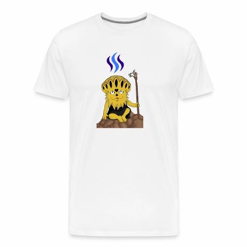 Steemit @bronkong - Männer Premium T-Shirt