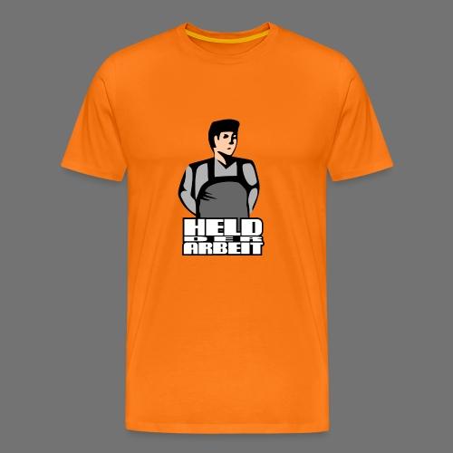 Hero of Labour (työntekijät Held) - Miesten premium t-paita