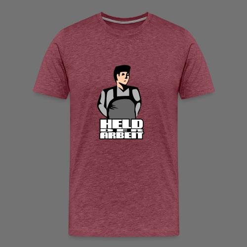 Hero of Labour (Workers Held) - Men's Premium T-Shirt