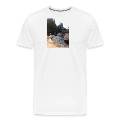 Bergbach1 - Männer Premium T-Shirt