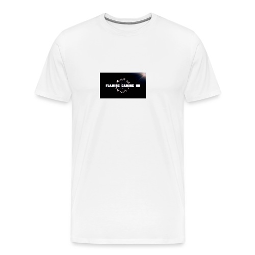 FLAMING GAMING, pre release merch - Men's Premium T-Shirt