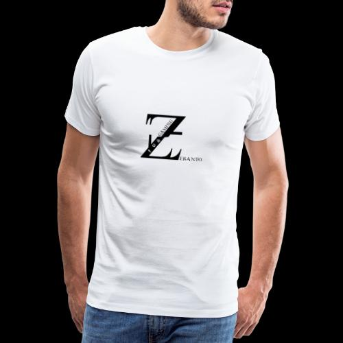 ZerantoLogoBlack - Männer Premium T-Shirt