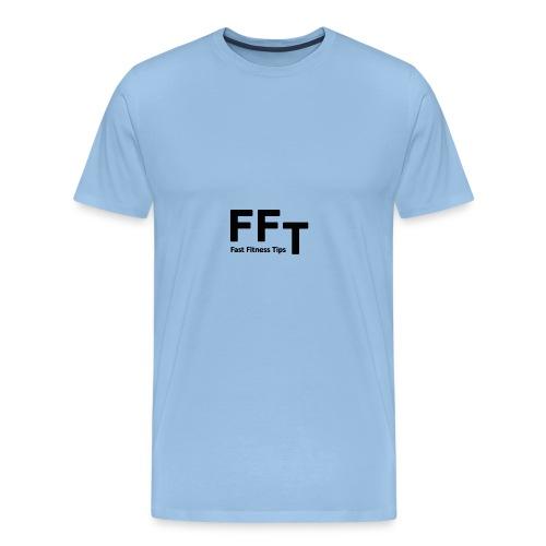 FFT simple logo letters - Men's Premium T-Shirt