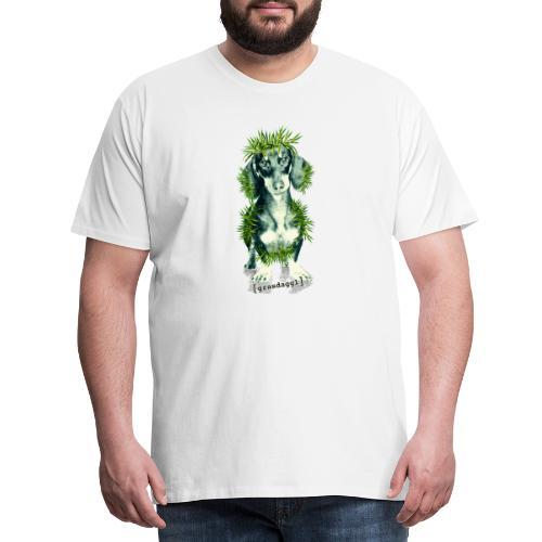 Grasdackel - Männer Premium T-Shirt