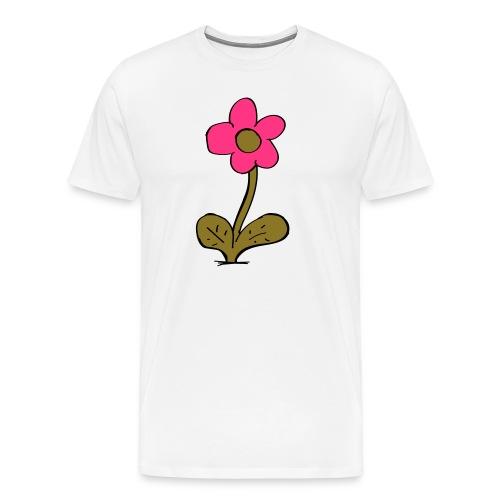 flowershirt-ai - Mannen Premium T-shirt