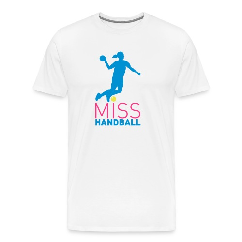 Miss handball - T-shirt Premium Homme