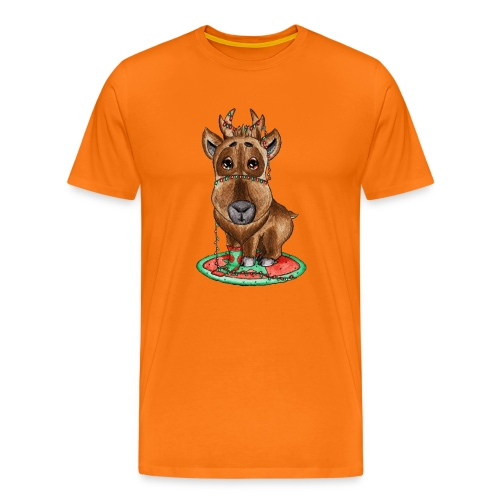 Reindeer refined scribblesirii - Miesten premium t-paita