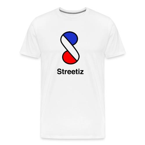 logobleaublancrougetest - T-shirt Premium Homme