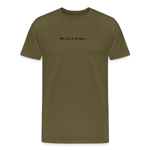 DieL - Herre premium T-shirt