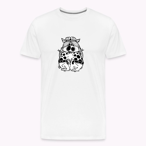 hippig - Maglietta Premium da uomo