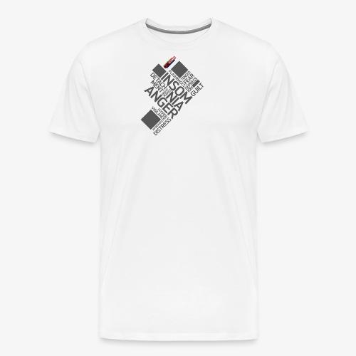 PTSD999 Wordle 5 - Men's Premium T-Shirt