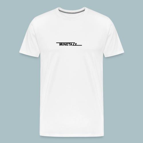 Minetace-png - Mannen Premium T-shirt