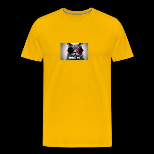 cool wallpaper 1 Fotor - Premium-T-shirt herr