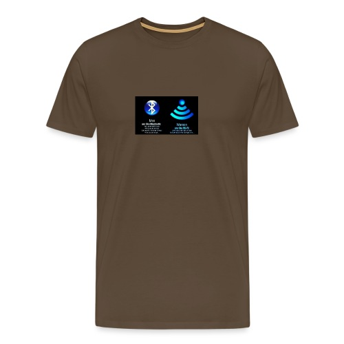 WIFI - Mannen Premium T-shirt