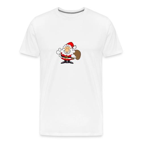 Santa_Cool01-png - Camiseta premium hombre