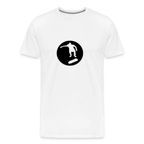 FVHJ Hoodie med logo på ryggen - Herre premium T-shirt