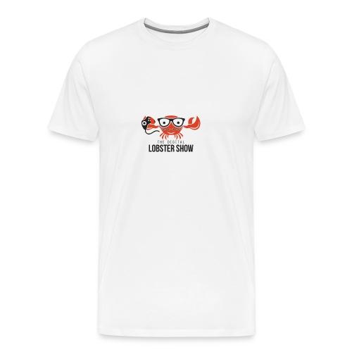 Vrouwen T-shirt Digitallobster - Mannen Premium T-shirt