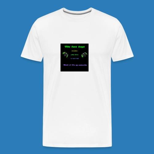 LUISJAKUBINTRO-jpg - Herre premium T-shirt