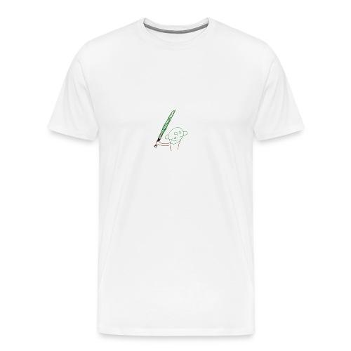 Algot ritar! - Premium-T-shirt herr