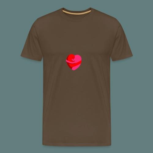 hearts hug - Maglietta Premium da uomo