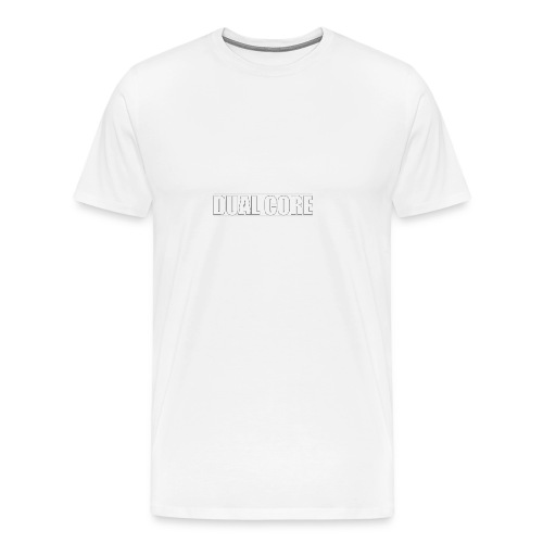 DUAL CORE GIRL TOP - Mannen Premium T-shirt