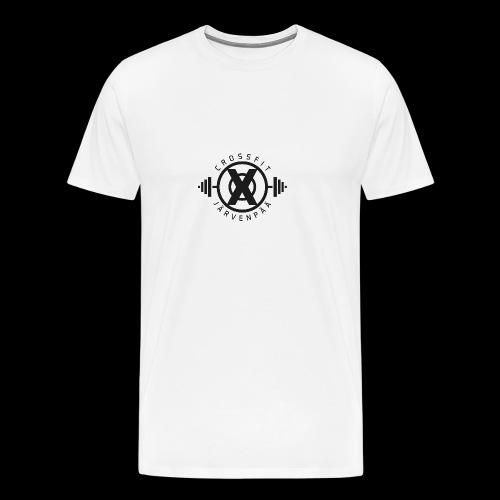 CrossFit Järvenpää BW - Miesten premium t-paita
