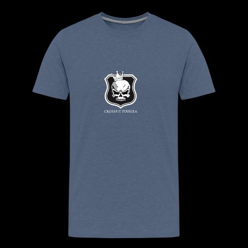 CrossFit Tuusula BW - Miesten premium t-paita