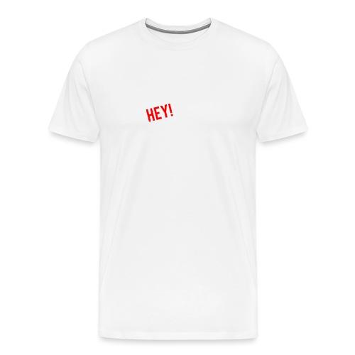 Hey doe eens aardig - Mannen Premium T-shirt