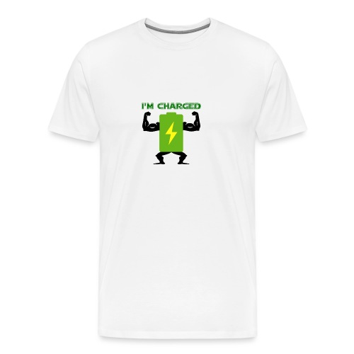 Battery charged - Camiseta premium hombre