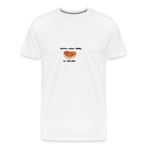Bøf - Herre premium T-shirt