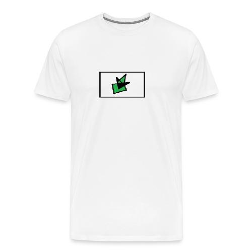 Grønn Terro - Premium T-skjorte for menn
