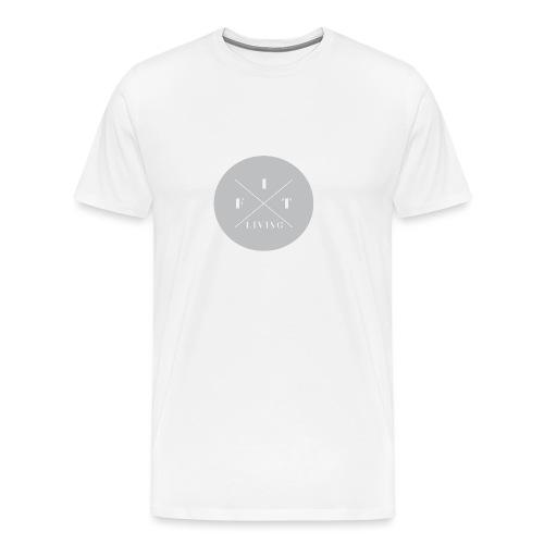 FIT living. - Premium T-skjorte for menn