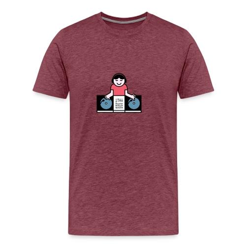 Vinyl DJ - Mannen Premium T-shirt
