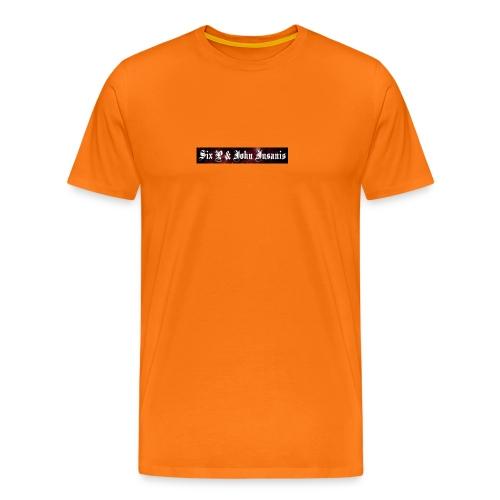 Six P & John Insanis Muki - Miesten premium t-paita