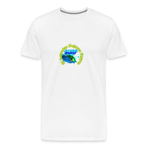 El Salvador surf - Camiseta premium hombre