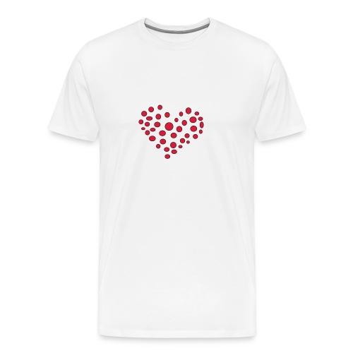 Polka - Herre premium T-shirt