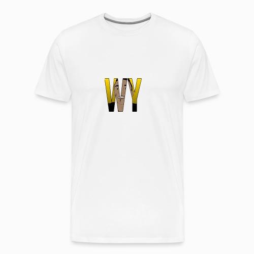 WaaromYannick Regular T-Shirt - WY - Mannen Premium T-shirt