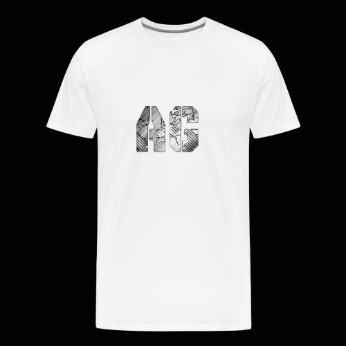 AG logo - Men's Premium T-Shirt
