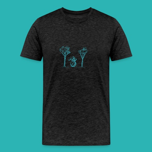 Rotolare_o_capitombolare_lightblu-png - Maglietta Premium da uomo