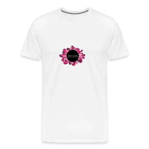 Toppi punaisella logolla - Miesten premium t-paita