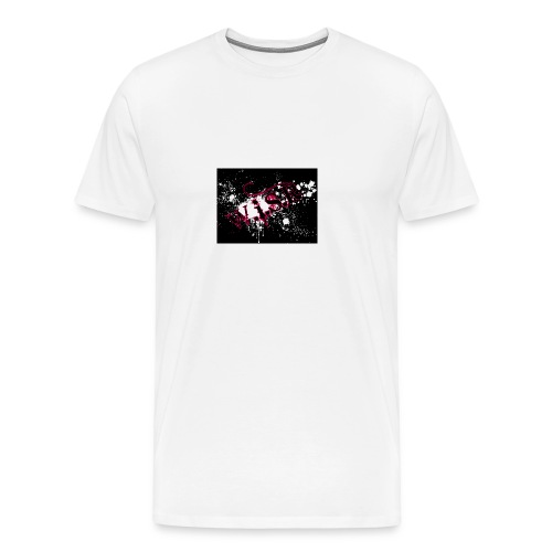 WISR Musta Huppari unisex - Miesten premium t-paita