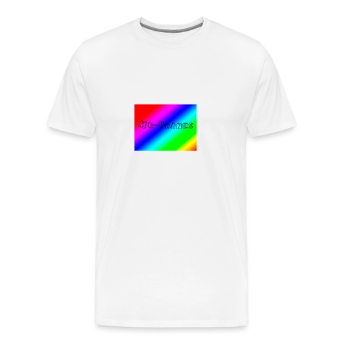 MO-Pranks rainbow - Premium T-skjorte for menn
