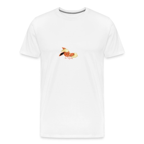 eevee - flareon - the sleppy one - Men's Premium T-Shirt