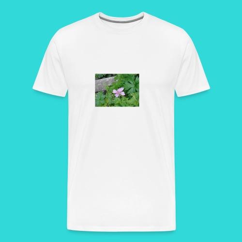 shirt bloem - Mannen Premium T-shirt