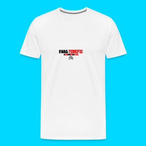 Cykel2-png - Herre premium T-shirt