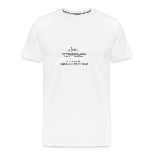 Ladies Standards - Herre premium T-shirt