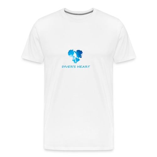 serce-png - Koszulka męska Premium