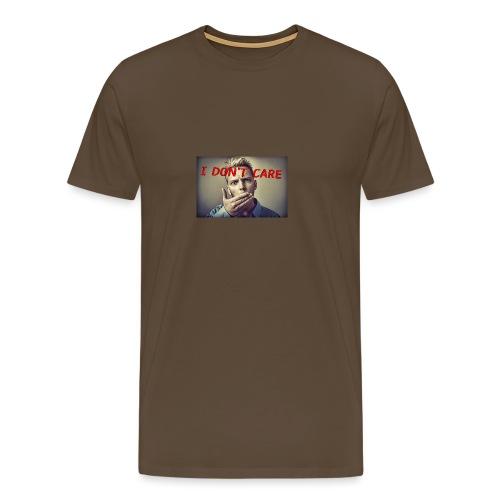 I don't care shirt - Men's Premium T-Shirt