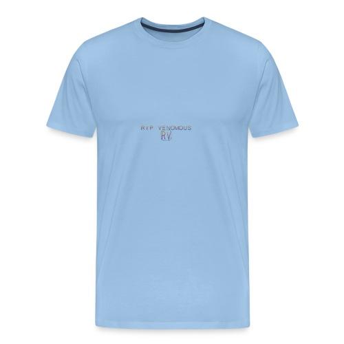 Rip Venomous White T-Shirt woman - Mannen Premium T-shirt