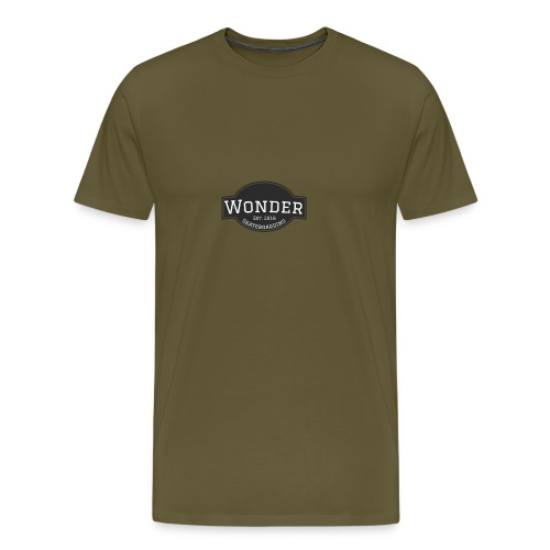 Wonder T-shirt - ol' small logo - Herre premium T-shirt